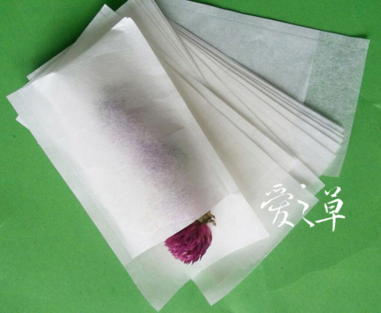 1000pcs/lot filters extra slim Empty tea bag paper bag filter 6*8cm
