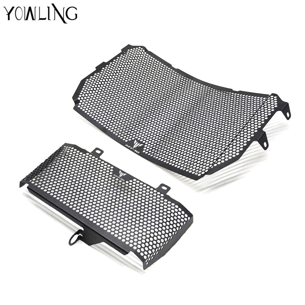 YOWLING For YAMAHA MT-10 MT10 FZ-10 MT 10 2016 2017 New Black Motorcycle Accessories Radiator Grille Guard Cover Protector MT-10