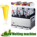 1pc 110V/220V Snow Melting machine/Three Tank Slush Machine/Cold Drink Maker/Smoothies Granita Machine/Sand ice machine