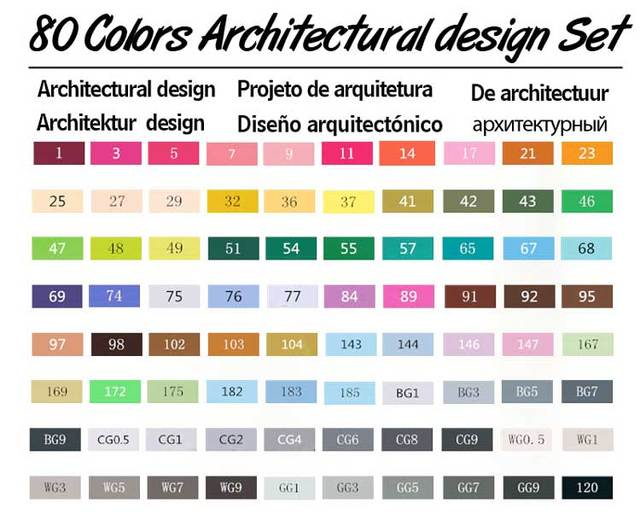 80 Architectural Set
