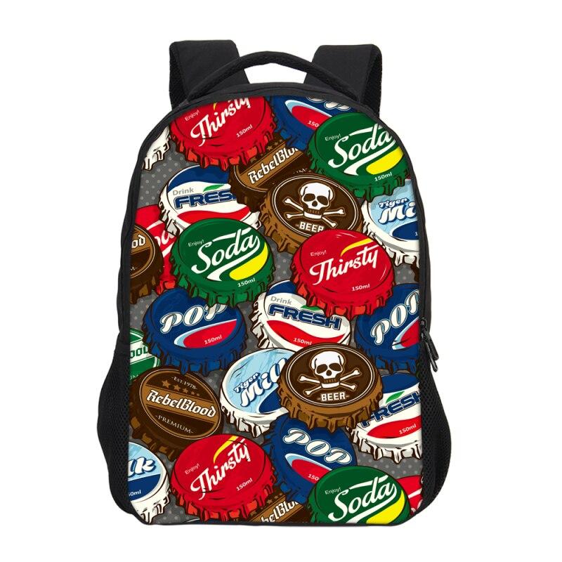 VEEVANV 2018 Fashion Cat Letter Caps Print Cute Backpacks Teenagers Girls Children School Mochila Bookbag Travel Women back pack
