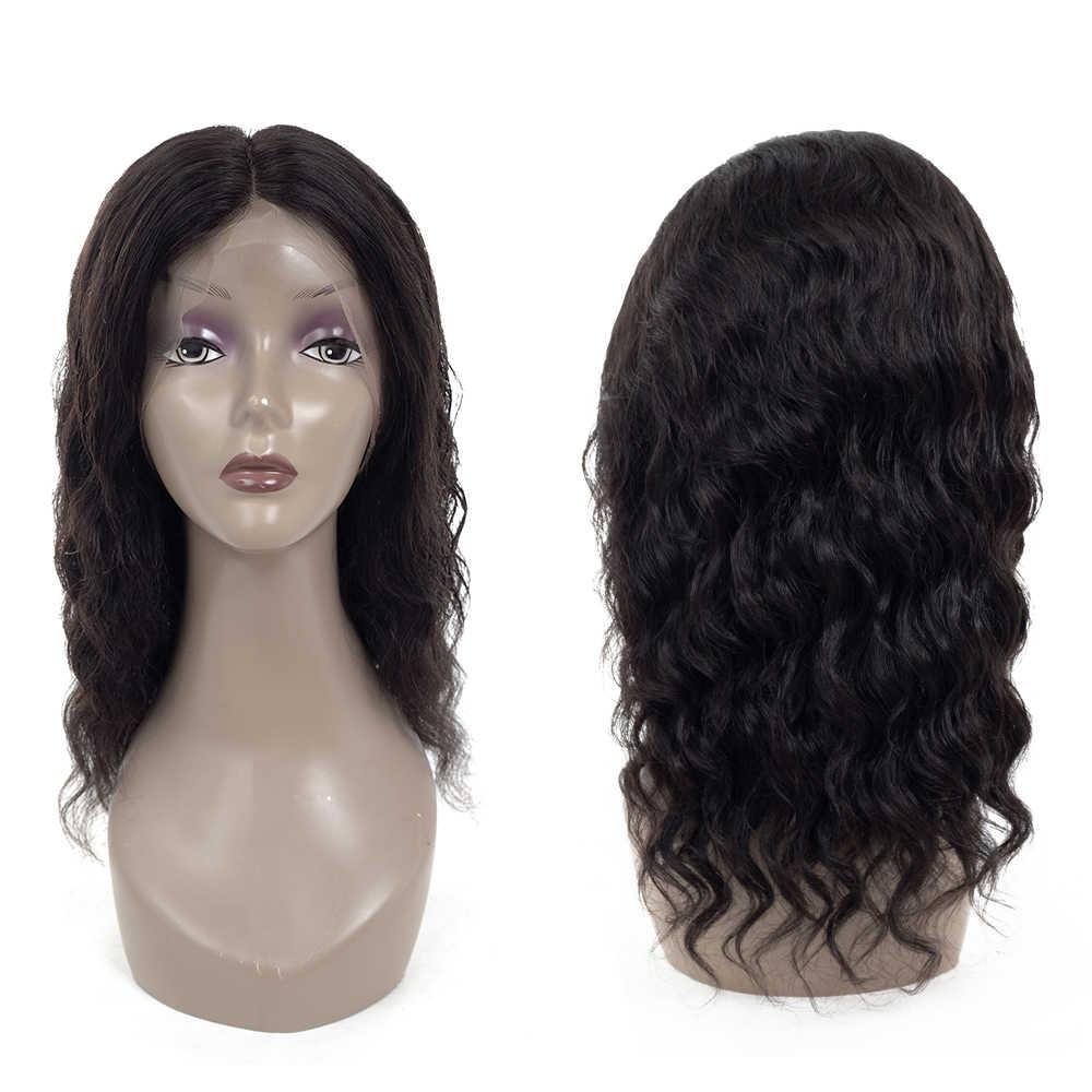 Оригинальные бразильские волосы Remy, парики 360, фронтальные парики шнурка, предварительно сорванные с волосами младенца, человеческие волосы, парики для женщин
