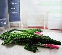 1m One Piece New Arrival Stuffed Creative Animals Doll Big Size Simulation Crocodile Plush Toy Cushion Pillow Toys WL48