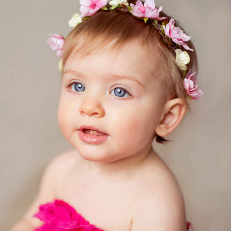 Baby Floral Headband Flower Photography Performance Hair Accessories Girls Hairband for Birthday Wedding Party HeaddressBaby Floral Headband Flower Photography Performance Hair Accessories Girls Hairband for Birthday Wedding Party Headdress