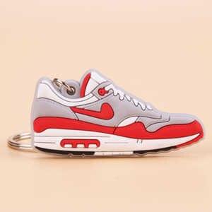 Móc Khóa Mini Jordan Giày Max 1 Móc Chìa Khóa Người Phụ Nữ Nam Trẻ Em Tặng Móc Khóa Bóng Rổ Giày Sneaker Porte Clef