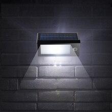 20 LED SMD2835 Солнечной Энергии Лампы 440 Люменов PIR Motion Датчик Прожектор Водонепроницаемый Сад Света Настенный Светильник Украшения Сада