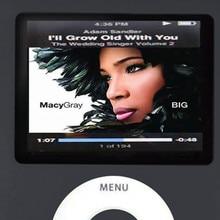 Malloom 2016 Top Slim MP3 8GB 1.8 inch LCD Media Video Game Movie Radio FM 3th Generation MP3 Music MP4 Player Free shipping