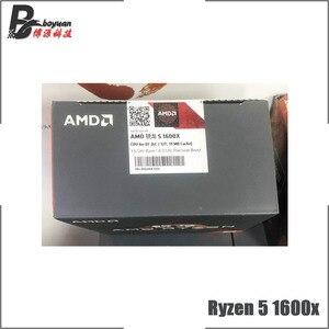 Image 3 - AMD Ryzen 5 1600X R5 1600x3.6 GHz שש ליבות עשר חוט חדש מעבד מעבד YD160XBCM6IAE שקע AM4