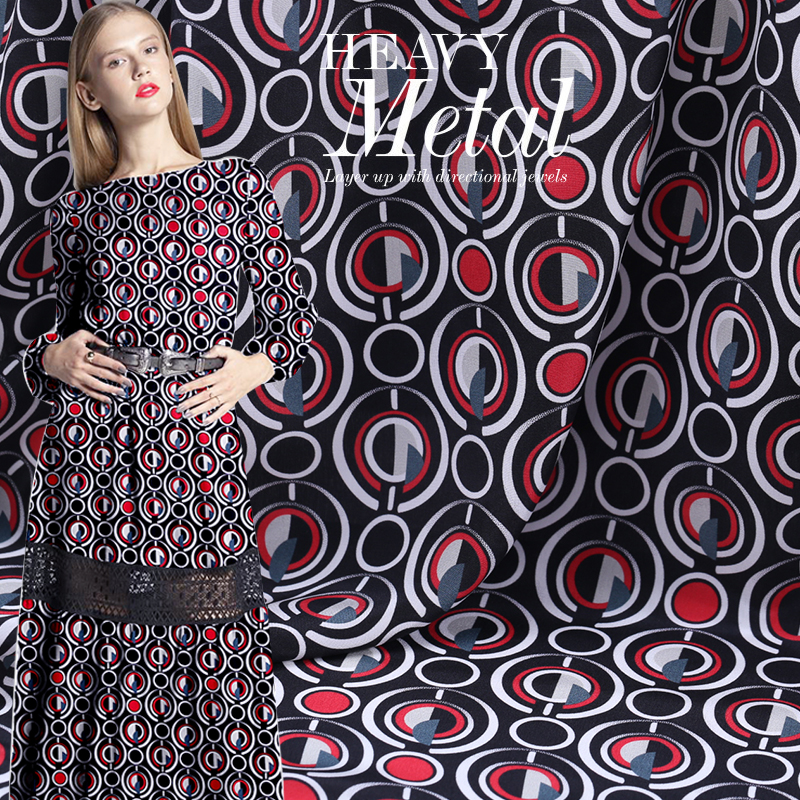 16mm silk double-breasted fabric big-name catwalk fashion digital printing fabric French style summer dress fabric16mm silk double-breasted fabric big-name catwalk fashion digital printing fabric French style summer dress fabric