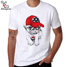 ZiLingLan Summer Casual Men's Tops Tees Breathable Cotton T-shirt Novelty Short Sleeve Slim Fit Plus Vintage Tees US/EUR Size