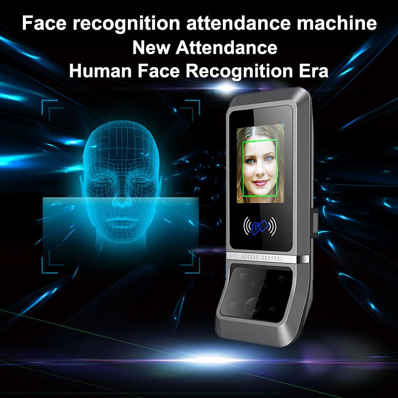 Biometrico Sistema di Presenza di Tempo TCP/IP Viso di Riconoscimento Facciale Dipendente a Tempo Presenze Lettore Digitale Orologio di Controllo di Accesso