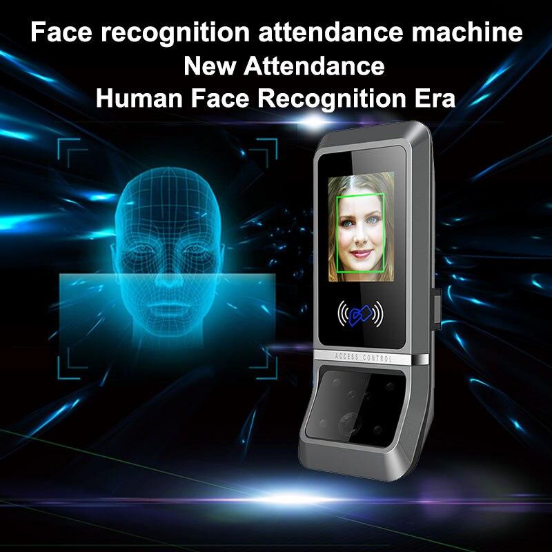 Système biométrique Temps de Présence TCP/IP Visage de Reconnaissance Faciale Temps de Présence Des Employés Numérique Lecteur Horloge Contrôle D'accès