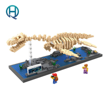 Mini Nano Blocks Dinosaur LOZ Building Blocks Plesiosaur Action Figure Diamond Blocks Compatible Legoelieds 9027