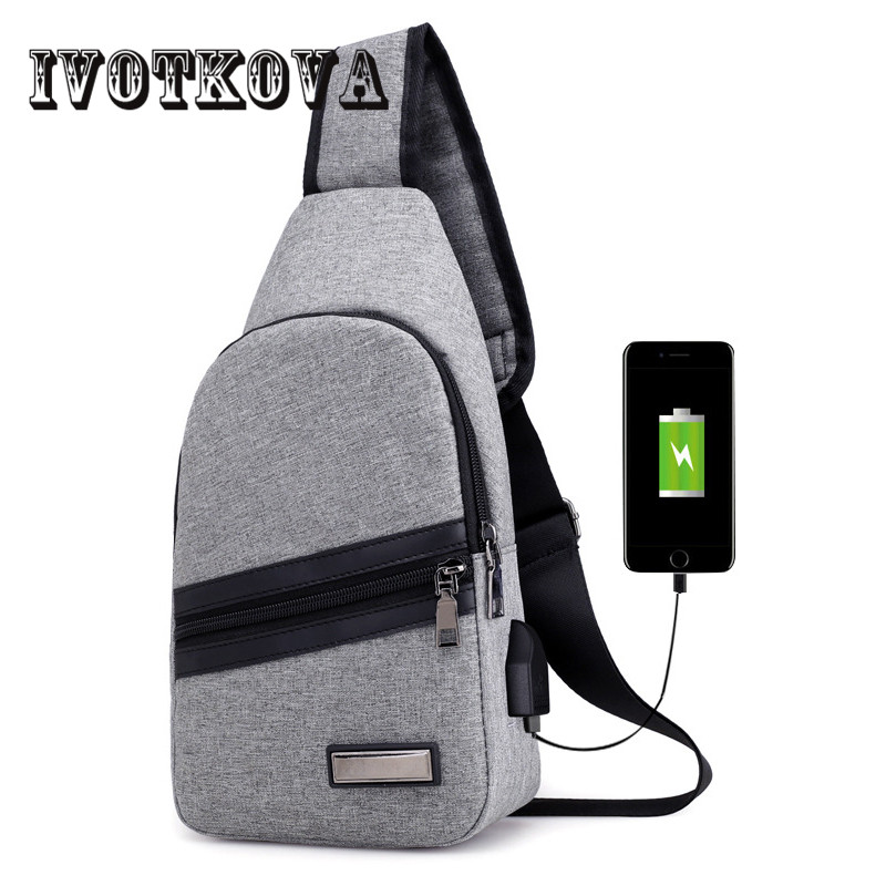 Men Messenger Bag 2018 Designer Chest Pack Nylon Travel Bag Brand Casual Purse for Man Shoulder Bag Women Gift Drop Shipping
