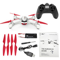 720P WIFI FPV HD Camera 2.4G 4CH RC Drone GPS Positioning Quadcopter Auto Return Set Height Holding Helicopters Hubsan X4 H502E