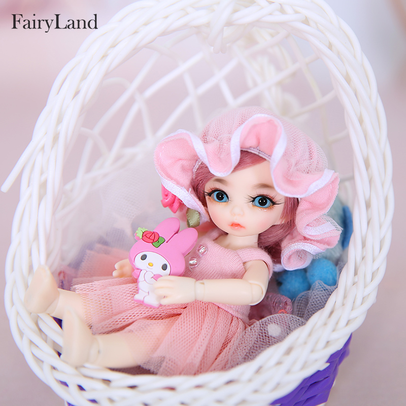 OUENEIFS Pukipuki Ante Fairyland FL BJD SD Doll 1/12 Body Model Baby Girl Boy High Quality Resin Toys For Birthday Christmas  Lu