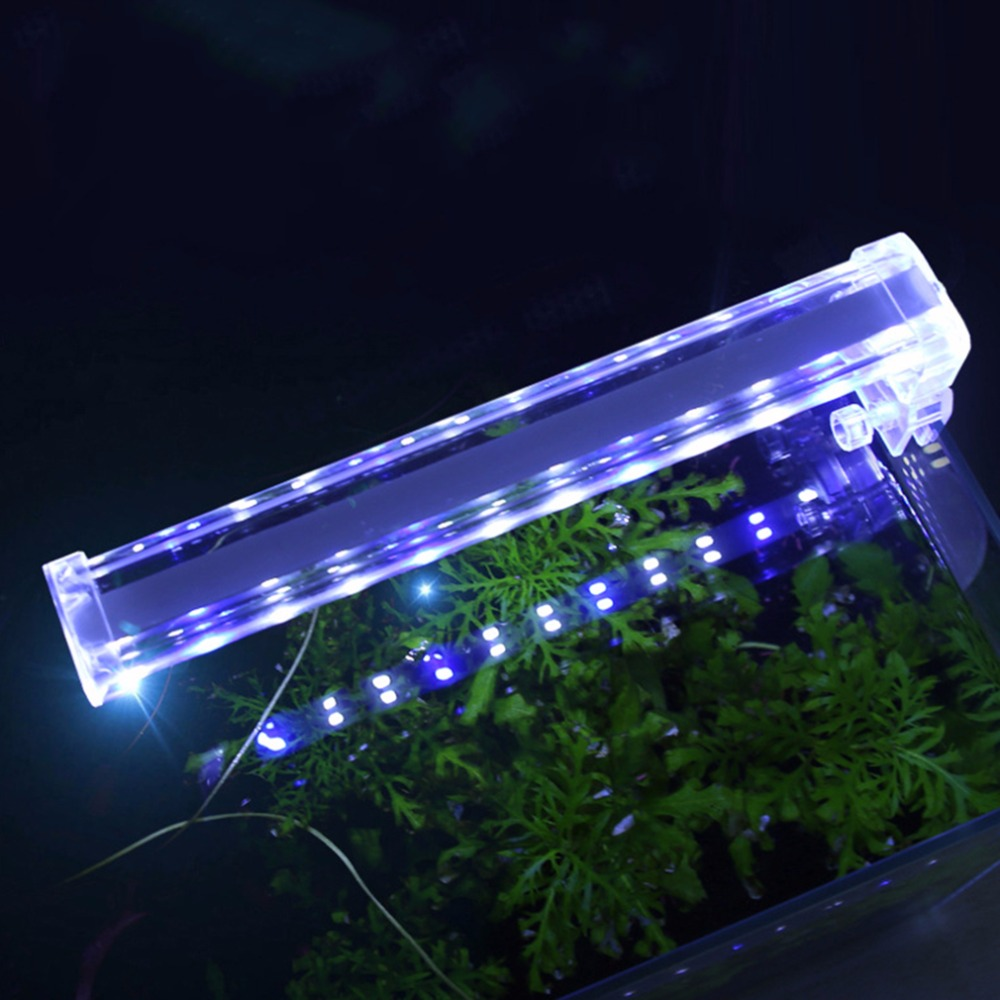 Aquarium fish tank mist maker - 2017 Super Brightness Low Power Consumption Led Aquarium Fish Tank Light 90 Degree Rotation Home Fish