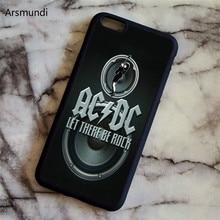 Arsmundi 2018 Новый AC DC ACDC плакат Муси Телефонные Чехлы для Iphone 5, 6 S 7 8 X для Samsung S4 5 6 7 8 Чехол Мягкий ТПУ Резиновая силиконовые