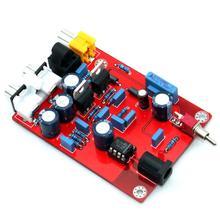 TDA1543 + CS8412 DC12V Fiber Coaxial Decoder Board YJ0085
