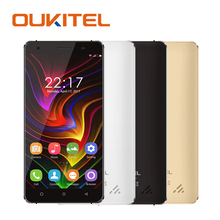 Original OUKITEL C5 Mobile Phones Quad Core MTK 6580 16G ROM 2G RAM Android 7.0 3G WCDMA 5.0 Inch Smatphone 2000mAh Celllphone