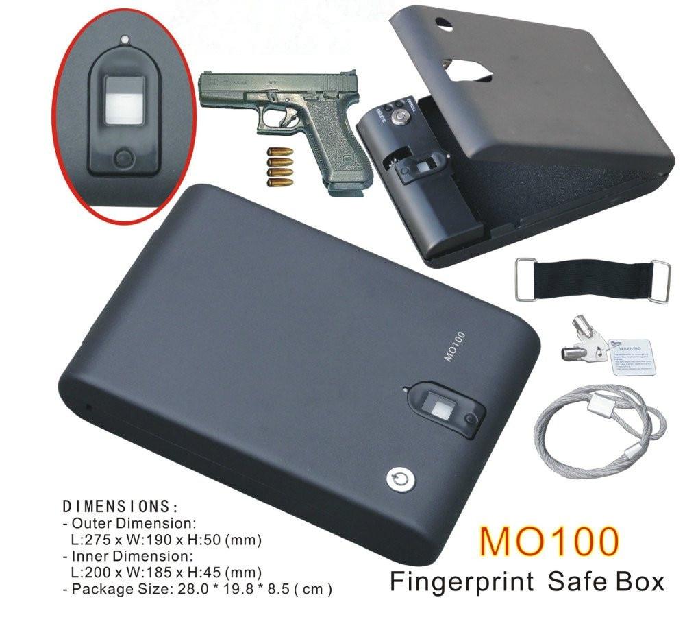Shitje me shumicë MO100 Biometrike e Gishtit të Kutisë së - Magazinimi dhe organizimi në shtëpi - Foto 2