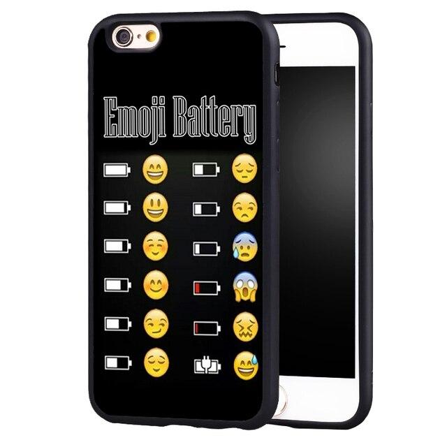 Smiley Faces Emoticon Emoji Protective Soft Silicone case cover for iphone X 8 7 plus 6 6splus 5
