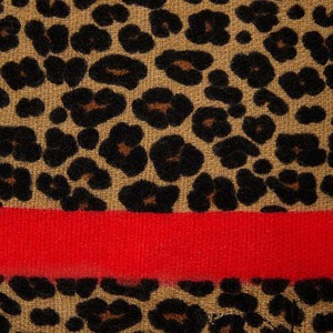 Image 4 - 2019 marki Leopard print kaszmirowy szalik dla kobiet winter warm projektant kobiet moda pashmina szale dziewczyna głowy Sexy szaliki