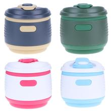Silicone Collapsible Cup Portable Insulation Collapsible Coffee Cup Outdoor Folding Water Cup Tea Coffee Drinkware kitchen Tools