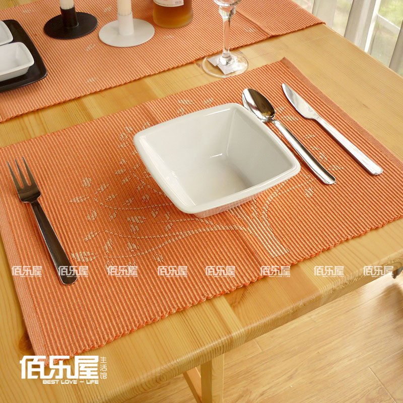 Nice 100% Cotton Placemat Coasters Fashion Dining Table Mat Cloth Heat  Insulation Pad Bowl Pad Wishing Tree In Mats U0026 Pads From Home U0026 Garden On  Aliexpress.com ...