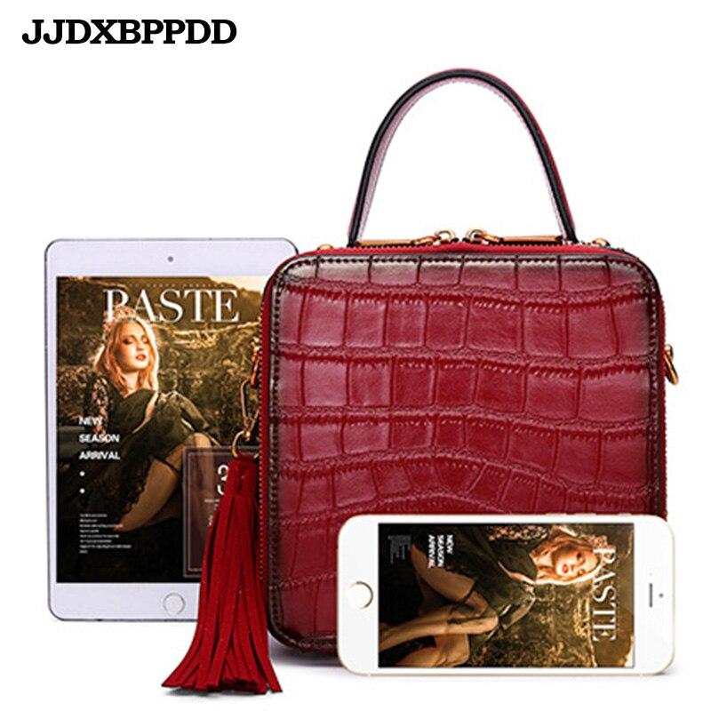 Nouveau luxe femmes en cuir véritable sac à bandoulière dames sacs à main qualité marque rabat sacs de messager femme petit fourre-tout sac à bandoulière - 5