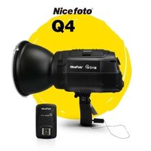 NiceFoto HS Q4C  400W HSS 1/8000S Studio Flash Outdoor High Speed Speedlite with Transmitter for Canon Camera
