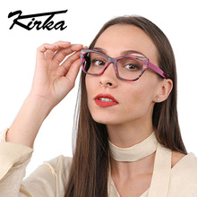 Kirka Fashion New Reading Eyeglasses Men Women Brand Designer Eye Glasses Spectacle Frame Optical Computer Eyewear Oculos