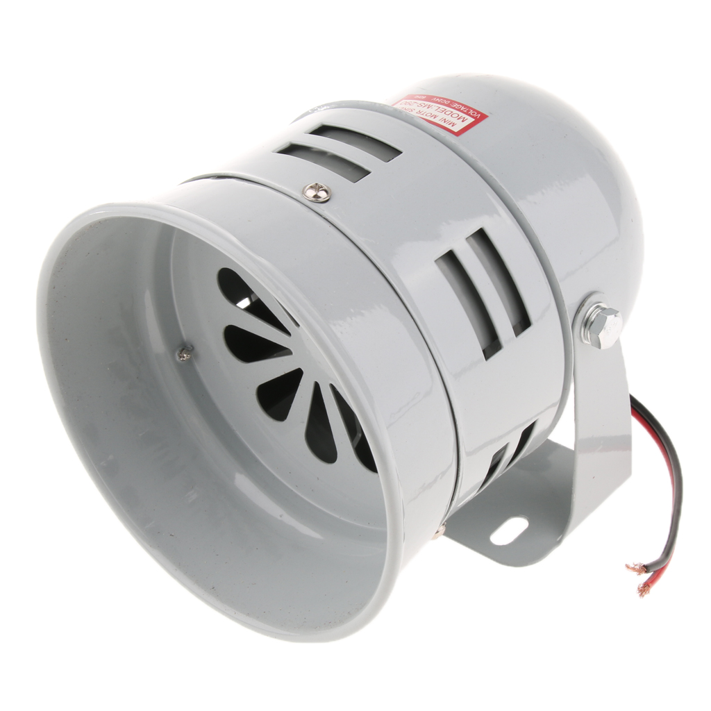 24V Industrial 110dB Loud Security Sound Alarm Buzzer Siren Horn Speaker