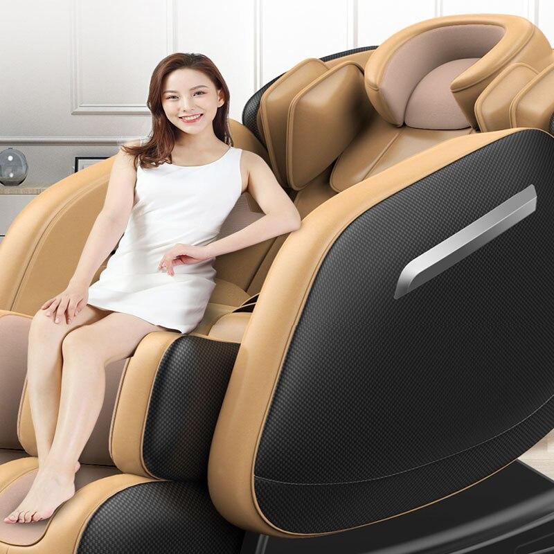 Small Body Massage Chair Zero Gravity Capsule Smart Old Man Home Neck Shoulder Full Body Massage Sofa