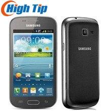 Купить Оригинальный samsung S7562 Galaxy S Duos сотовых телефонов 5 Мп камера Wi-Fi gps android 4,0 Dual sim карты Восстановленное Перевозка груза падения