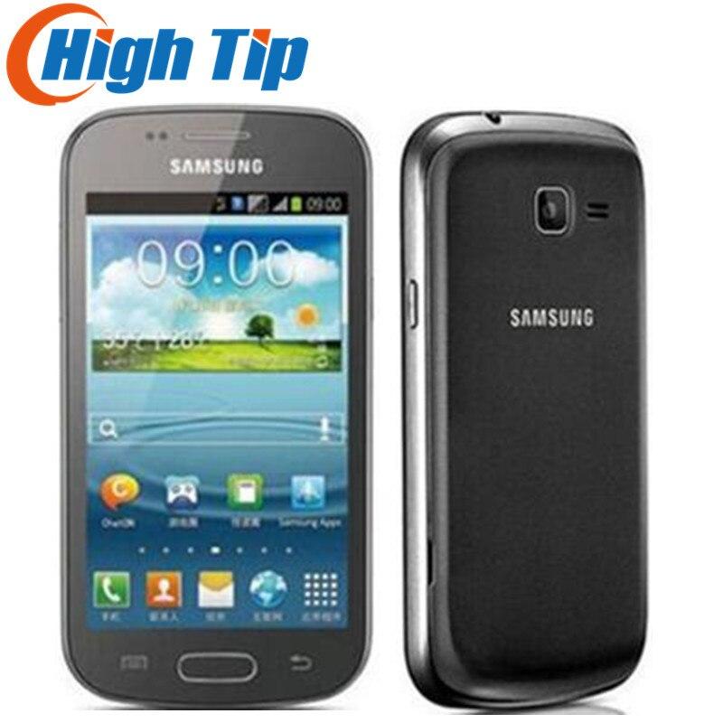Original Samsung S7562 Galaxy S Duos celulares 5 MP Cámara wifi GPS android 4,0 Doble tarjeta sim reformado gota libre