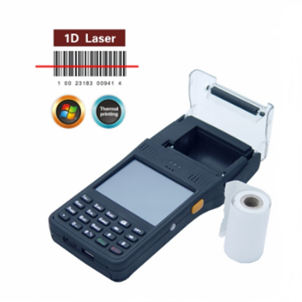 handheld rfid reader with printer -