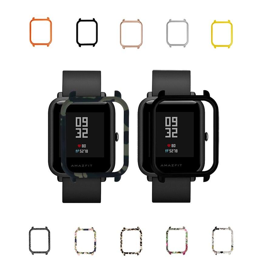 Capa para Xiaomi Quadro Colorido Proteger Case Amazfit Bip Bit Lite Juventude Relógio Inteligente 100 Pçs pc