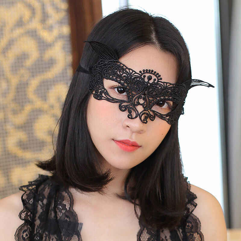 Sexy Máscara Do Laço Mascarada Halloween Máscaras Maske Carnaval Festa Cosplay Catwoman Eye Bola Rosto Mulheres Mascara Carnaval Máscara Prop