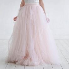Haute Couture 2018 font b Bridal b font Tulle Skirt for Women Dramatic Ball font b