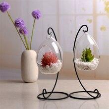 Подвесная стеклянная ваза эллипс подвесная Террариум стеклянная ваза гидропонная офисная эллипс стеклянная ваза домашнее украшение Прямая