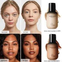 Cosmetics BB Cream Face Contour Base Makeup Foundation High Coverage Moisturizing Whitening Skin Make Up Liquida Concealer