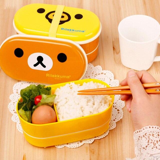 Еда Класс pp обед для детей корейский комплект Еда контейнер Посуда Bento желтый микроволновая печь ноздри детей lunchbox kc1307