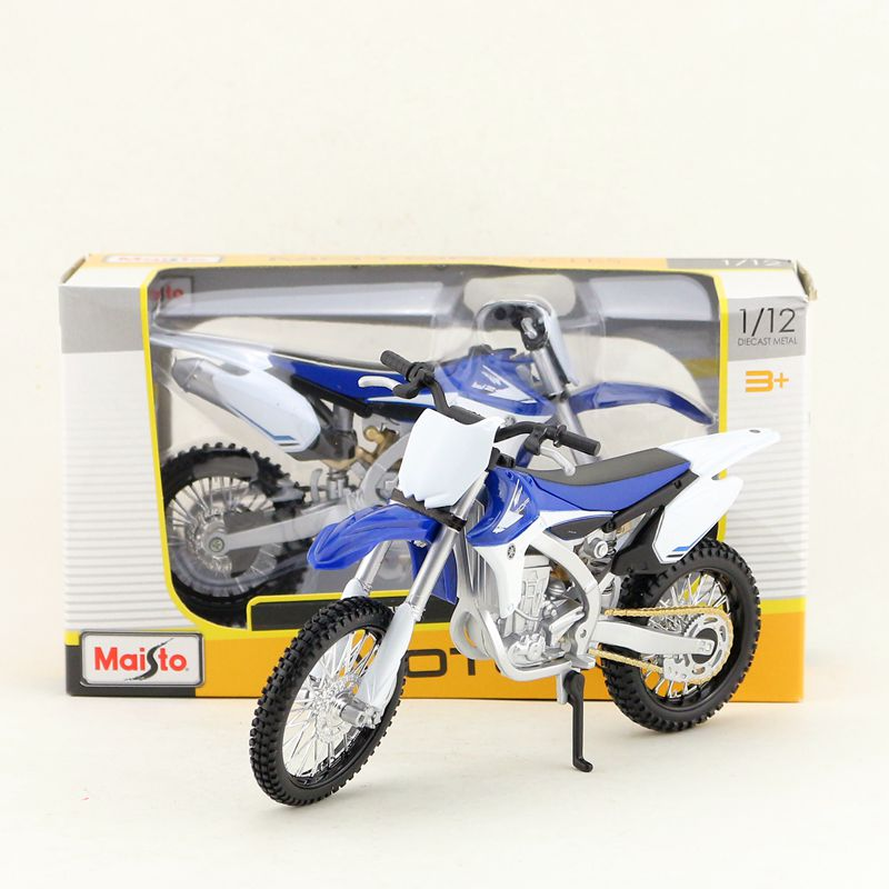 Maisto/1:12 Scale/Simulation Diecast Model Motorcycle Toy/YAMAHA YZ450F Supercross/Delicate Children's Toy/Colllection