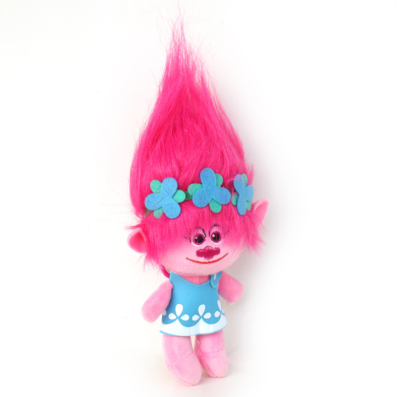 Poppy Branch Doll 23cm/33cm Soft Plush Dreamworks Movie Trolls Dolls Stuffed Animal PLush Toys for Children