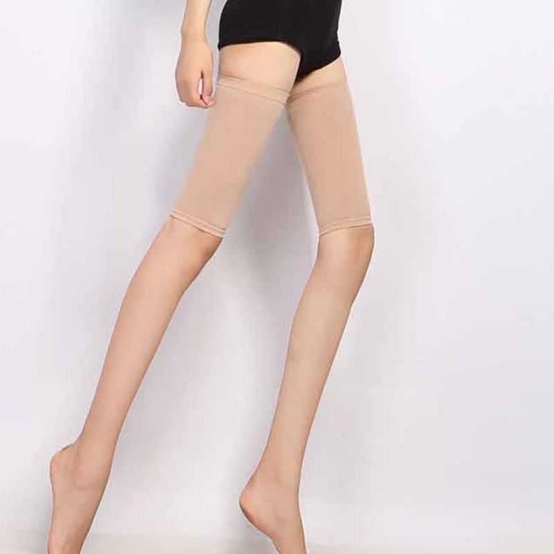 Сжатия Гетры Скоба для похудения бедра ног Shaper Рукава Носки подколенного сухожилия пах Поддержка гетры Поддержка протектор