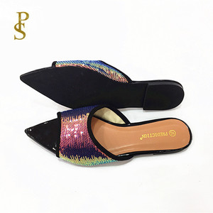Image 5 - Shiny shoes flat shoes womens shoes ladiess shoes