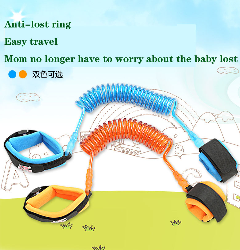 Scissors Continuous Traction Rope Baby Infants And Young Children Anti Lost Bracelet Backpacks