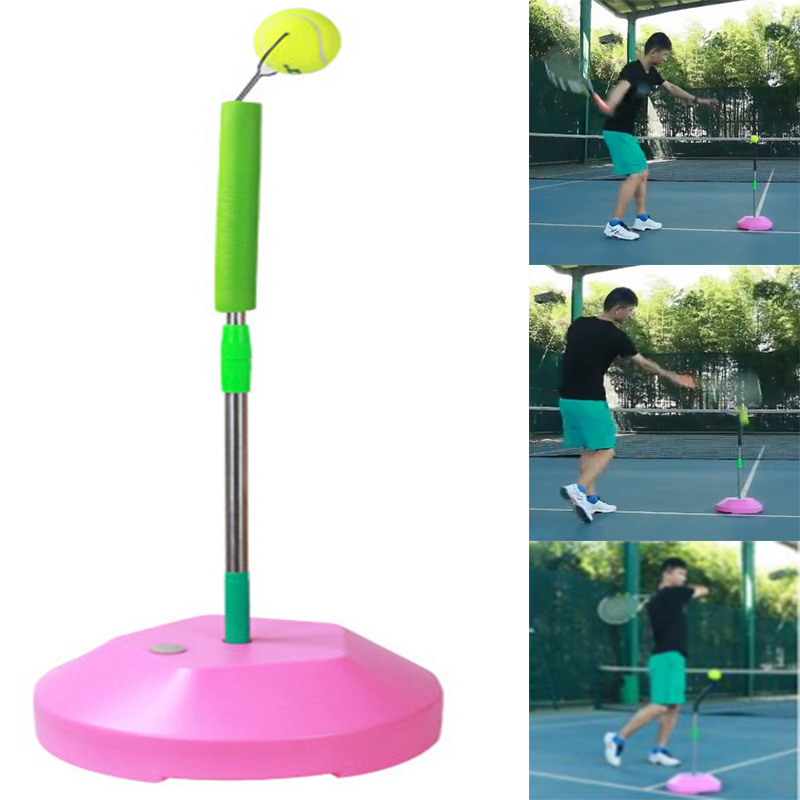 <font><b>Tennis</b></font> Trainer Tenis Training Machine Self-study Tool Outdoor Sports Raquete Practice Padel Balls Accessories Men Women