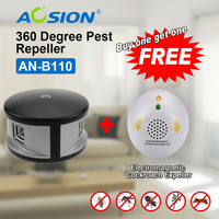 Aosion high impact mice rat rodent repeller 360 degree ultrasonic pest mouse repellent (got a GS plug cockroach repeller free)